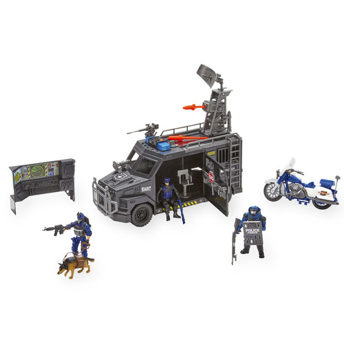 True Heroes Tactical Rescue SWAT Playset