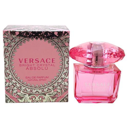 Bright Crystal Absolu by Versace for Women - 3 oz EDP Spray