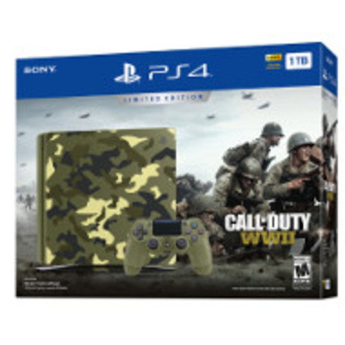 PlayStation 4 1TB Limited Edition Call of Duty: WWII Bundle