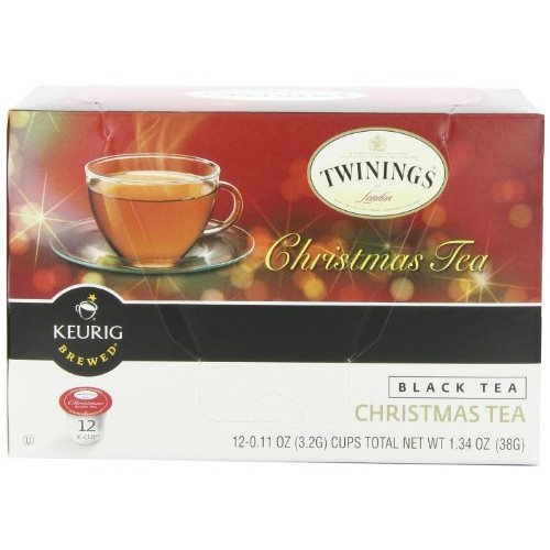 Twinings Christmas Tea, Keurig K-Cups, 12 Count [Christmas Tea, 12 Count]