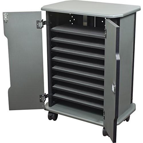 Balt Tablet Charging Cart, 27689, 16 Compartments, 30.75