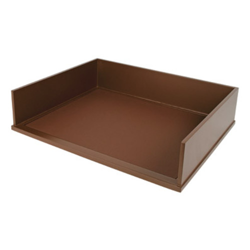 Victor Wood Mocha Brown Collection Stacking Letter Tray, B1154