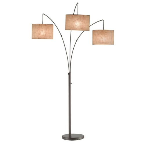 Adesso Trinity Arc Floor Lamp, 82