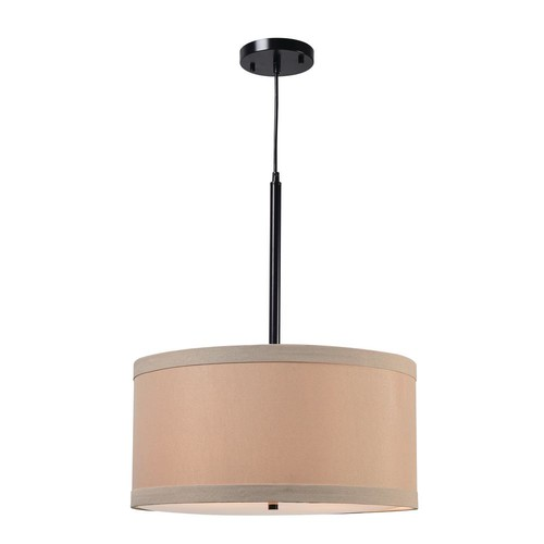 Kenroy Home Paige 2-Light Bronze Pendant