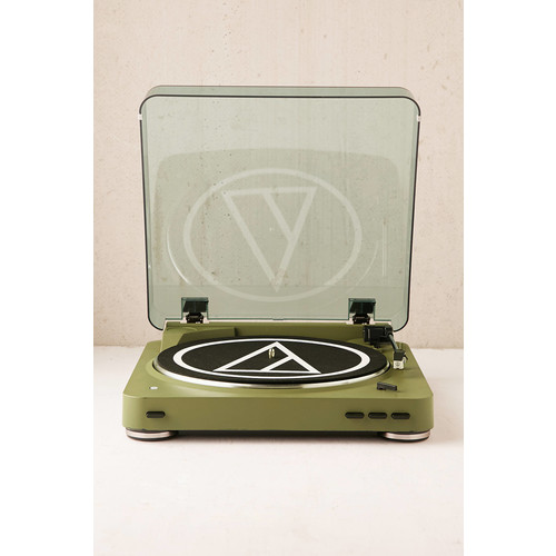 Audio-Technica X UO Olive AT-LP60 Bluetooth Record Player [REGULAR]