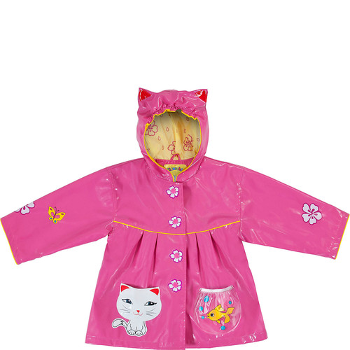 Kidorable Lucky Cat All-Weather Raincoat