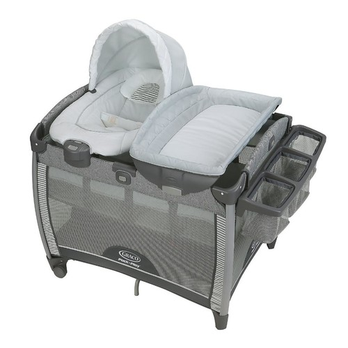 Graco(R) Pack 'n Play(R) Quick Connect(TM) Portable Bouncer Bassinet - Raleigh