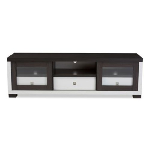 Baxton Studio Oxley 70-Inch TV Cabinet