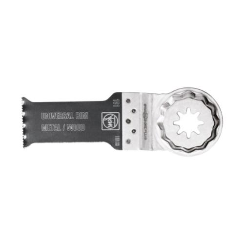 FEIN StarlockPlus Multimaster Bi-Metal E-Cut Universal Saw Blade 1-1/8 in. 3 pk(63502151270)
