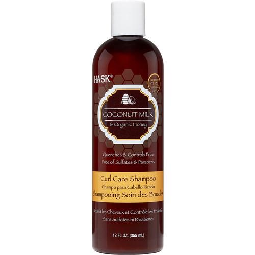 Coconut Milk & Organic Honey Curl Care Shampoo