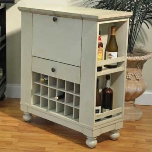 ECI Furniture Spirit Cabinet; Antique White