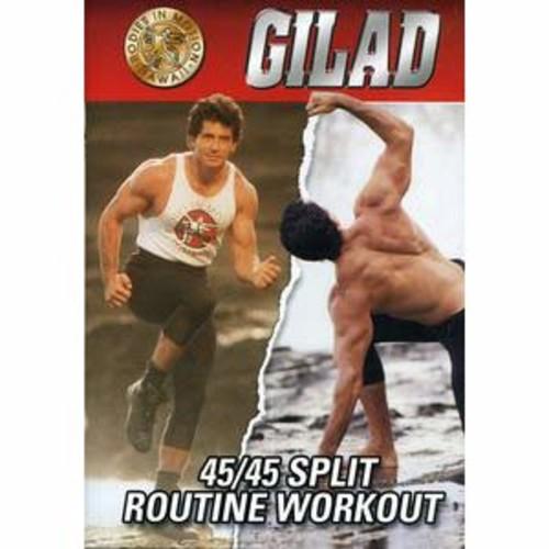 Gilad: 45-45 Split Routine Workout