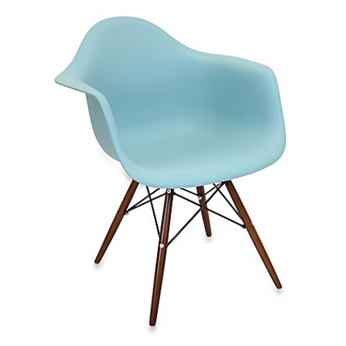 LumiSource Neo Flair Chairs (Set of 2) in Sea Green