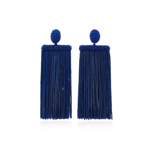 Waterfall Tassel Silk Earrings