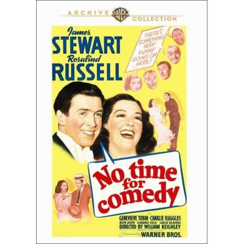 No Time for Comedy [DVD] [1940]