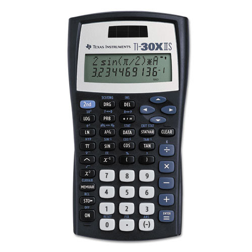 Texas Instruments TI-30XIIS Scientific Calculator (30XIIS/TBL/1L1/J)