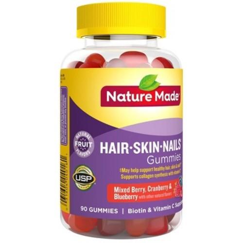 Nature Made Hair/Skin/Nails Dietary Supplement Gummies - 90ct