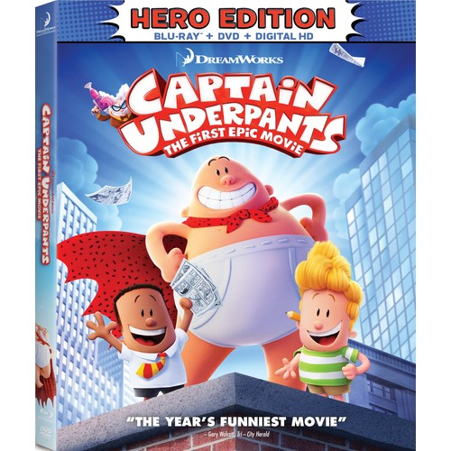 Captain Underpants: The First Epic Movie (Blu-ray / DVD / Digital HD)