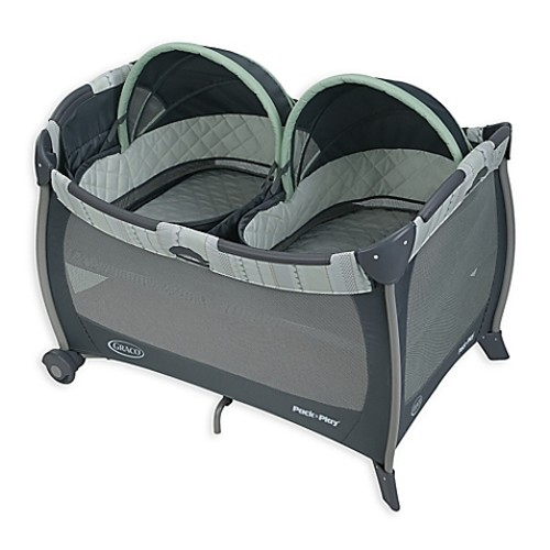 Graco Pack 'n Play Playard with Twin Bassinets in Mason