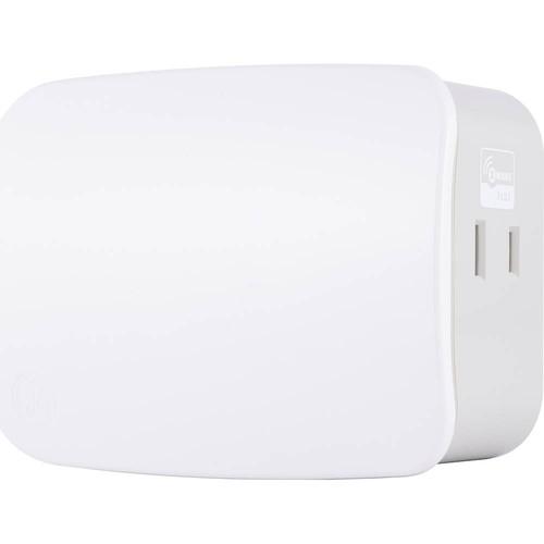 GE - Z-Wave Plus Wireless Smart Plug-In Dimmer Switch - White