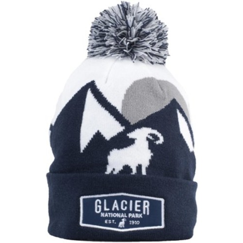 Glacier Pom Pom Beanie