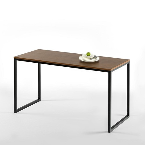 Zinus Modern Studio Collection Brown Soho Rectangular Dining Table/Table Only/Office Desk/Computer Table