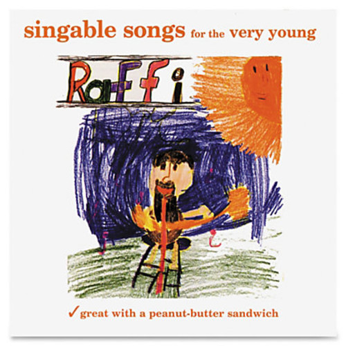 Flipside Raffi: Songs For The Very Young CD - Children