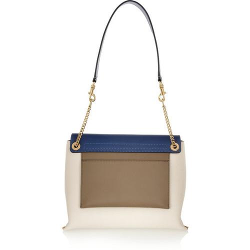 Clare leather shoulder bag