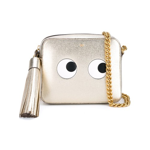 ANYA HINDMARCH 'Eyes' Grained Shoulder Bag