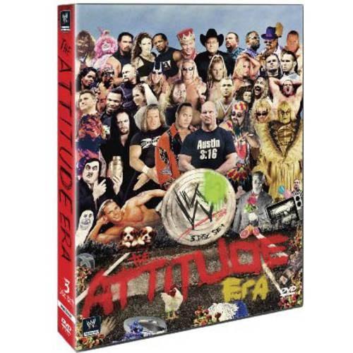 WWE: The Attitude Era [3 Discs] [DVD] [2012]