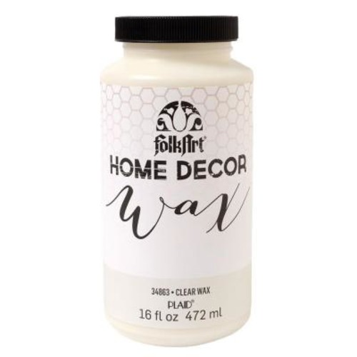 FolkArt Home Decor 16 oz. Clear Wax Finish