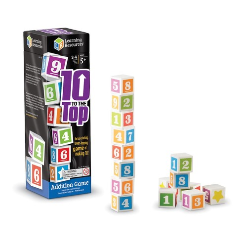 Learning Resources Ten to the Top! Game