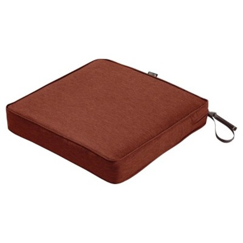 Montlake 2pc Square Patio Dining Seat Cushion Set - Classic Accessories