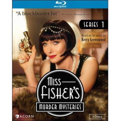 Miss Fishers Murder Mysteries-Series 1 (Blu-Ray/3 Disc)