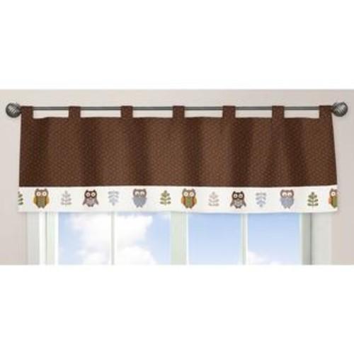 Sweet Jojo Designs Night Owl Collection Window Curtain Valance