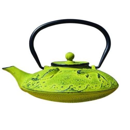 Dutch Agon Koi 3.12-Cup Teapot in Moss Green