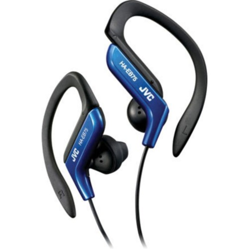 JVC HAEB75A Sports Clip Headphone, Blue