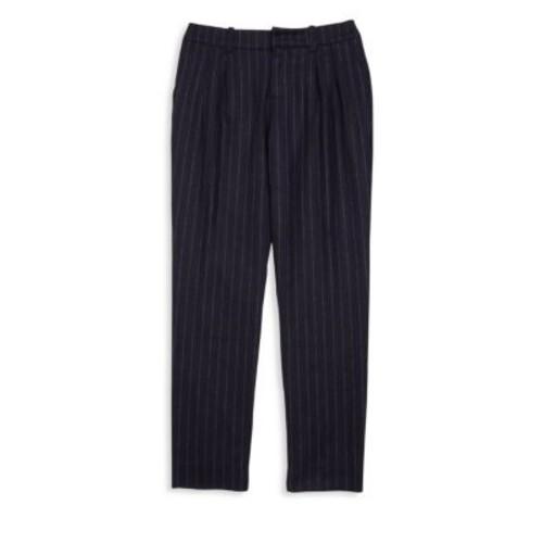 RALPH LAUREN Girl'S Pinstriped Wool Blend Trousers
