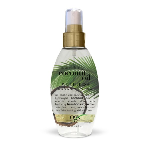 OGX Coconut Oil, Nourishing, 4 fl oz (118 ml)