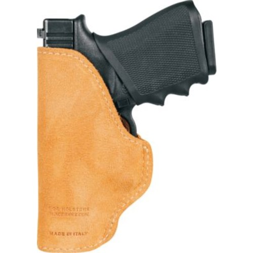 BLACKHAWK Suede Leather Tuckable Holster  Right Hand [Hand : Right; Model : 1911 Gov't]