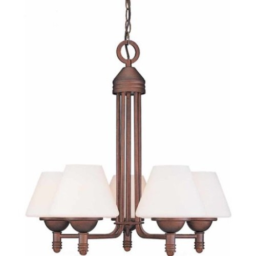 Volume Lighting Avila 5-Light Shaded Chandelier