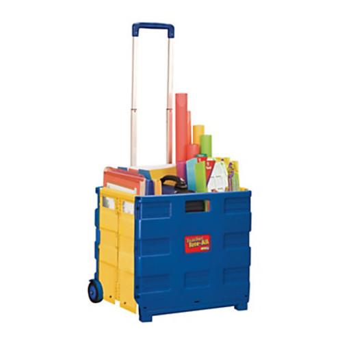 Educational Insights Teacher Tote-All Plastic Cart, 16 3/4