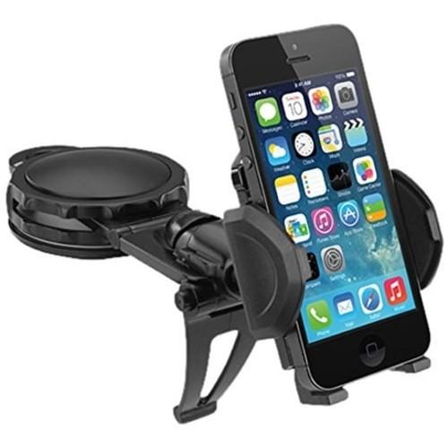Macally Dashboard Car Phone Holder Mount For Phone 7 7 Plus/ 6S Plus/6S/6, Galaxy S7/S7 Edge, Edge S6/S6 Edge, Galaxy No