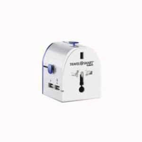 CONAIR TS241AP TRAVEL ADAPTER, ALL-IN-ONE with USB's.