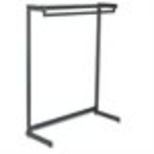 Quartet 20214 Single-Side Garment Rack w/Shelf Powder Coated Textured Steel 48