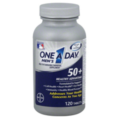 One A Day Men's 50+ Healthy Advantage Tablets