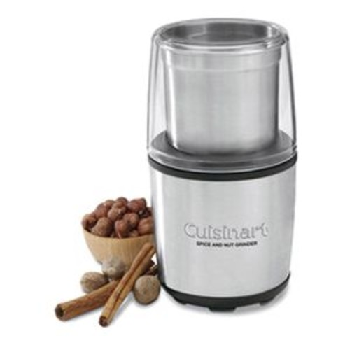 Cuisinart 0.4-Cup Electric Spice & Nut Grinder, Stainless/Black (SG-10)