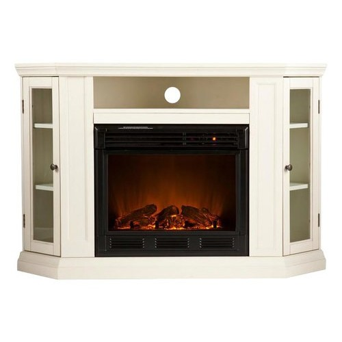 SEI - Electric Media Fireplace for Most Flat-Panel TVs Up to 46