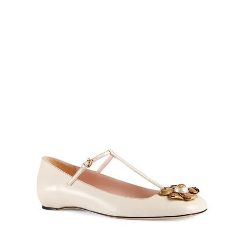 GUCCI Lexi T Strap Ballet Flats