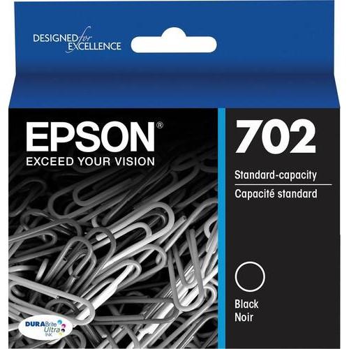 Epson - 702 Ink Cartridge - Black